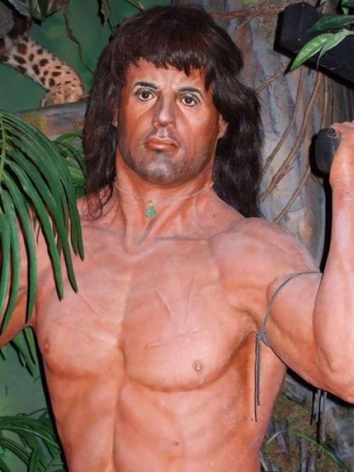 11. Sylvester Stallone quedó muy golpeado después de tantas Rocky
