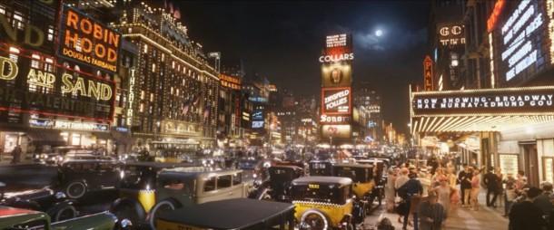 4. El Gran Gatsby, escena situada en Nueva York 1920.