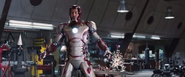 6. Tony Stark siempre tiene muy buenas armaduras (Iron man 3)