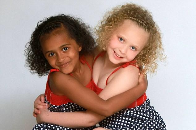 2. Los mellizos pueden ser de distintas razas