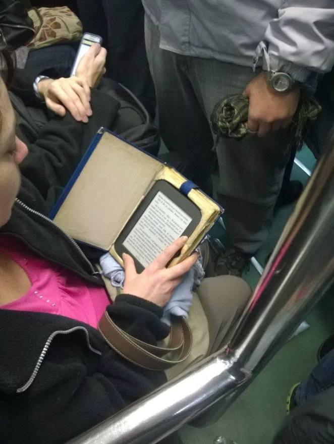 14. Sistema anti-robo infalible: un libro.