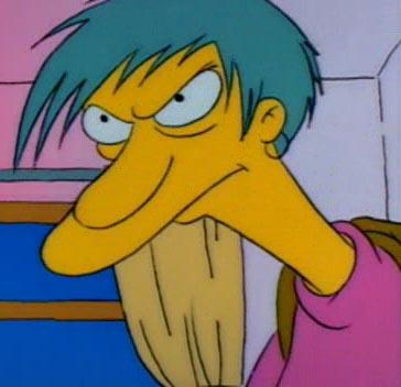 6. Sabés que el primer episodio de Los Simpsons que se dio en la Argentina por Telefé fue el de la Niñera Ladrona