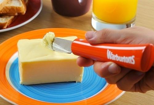 11. El cuchillo para manteca que se calienta