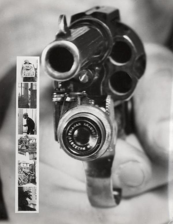 12. Un revolver con microcámara incorporada