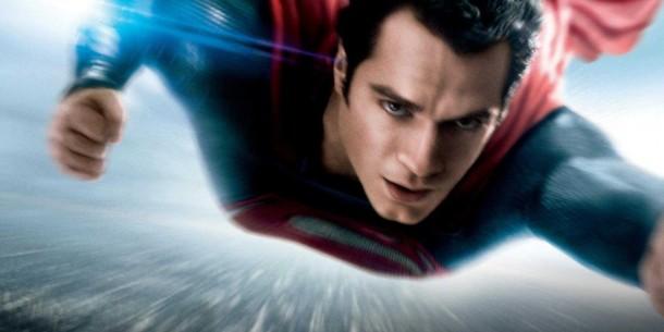 5. Superman volando a toda velocidad en