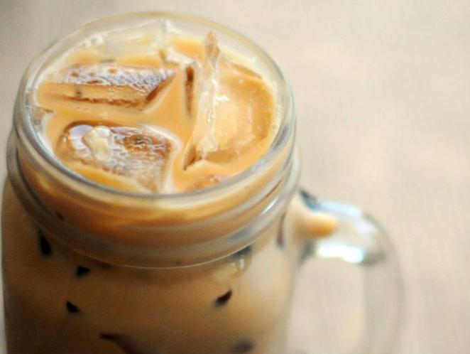 2. Café helado con leche condensada