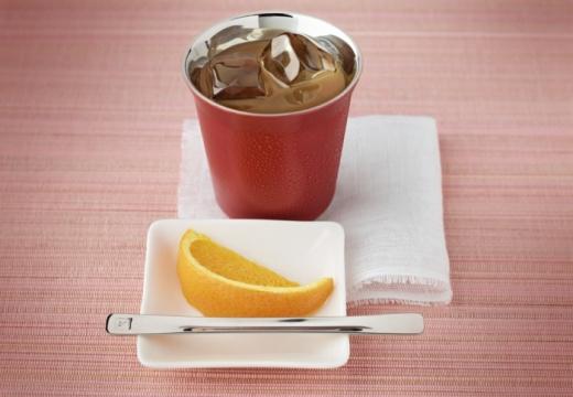7. Café helado con vainilla y licor de naranja