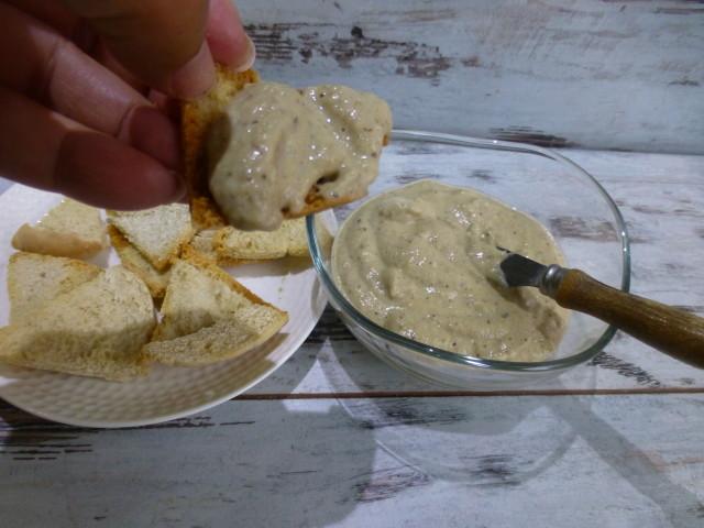 4. Berenjena con queso a las finas hierbas