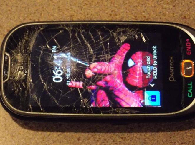 1. Que se te rompa el teléfono.