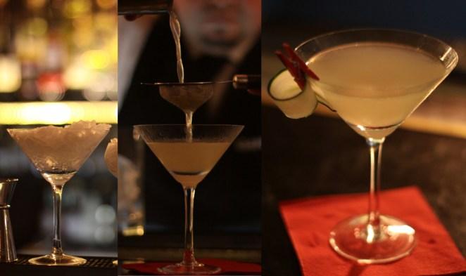 7. Y porque últimamente la tendencia es ponerle jengibre a todo, este cocktail con pepino cumple con todas las expectativas.