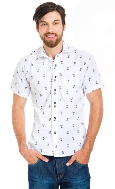 Camisa Blanca Dinamarca Morro, a 9