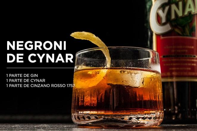 23. Para completar, un clásico reversionado... ¡un Negroni de Cynar!