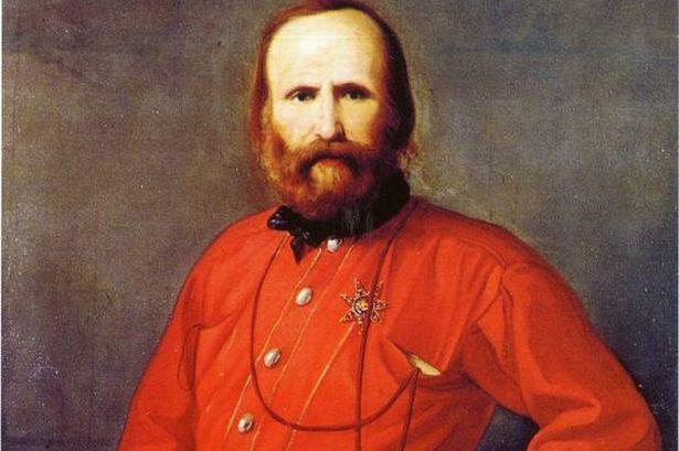 3. El color rojo tiene un significado especial en el Garibaldi
