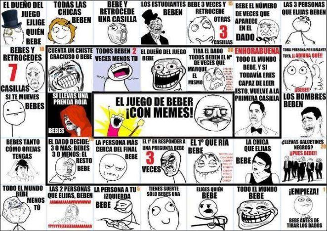 El juego de los memes