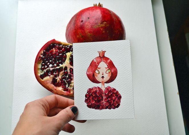 An Arrogant Pomegranate