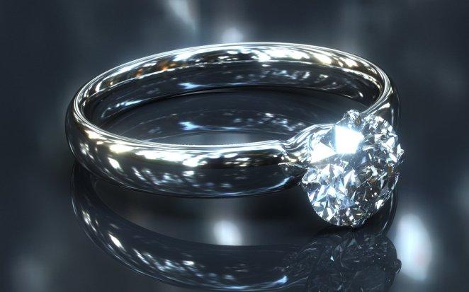 Resultado de imagen para anillo de diamante