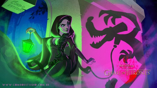 """The Night Is Dark And Full Of Terrors..."" Melisandre"