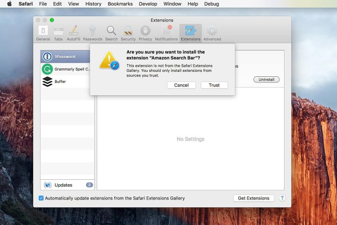 Resultado de imagen para are you sure you want to install?