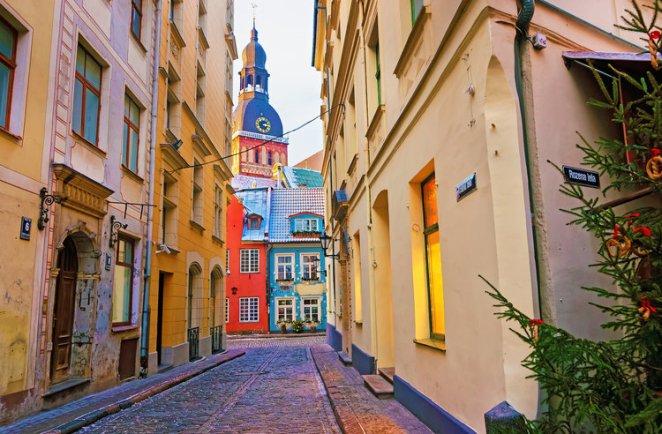 3. Riga, Latvia — £172.17 (3.03).