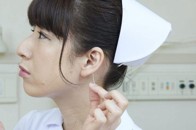 Bizarre Japanese hospital stock photos