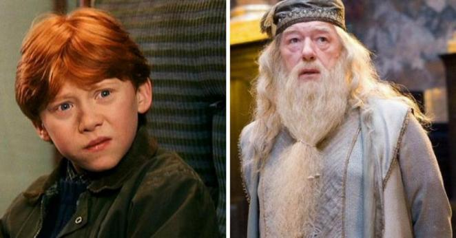 Resultado de imagen para ron and dumbledore