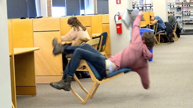 Resultado de imagen para falling chair