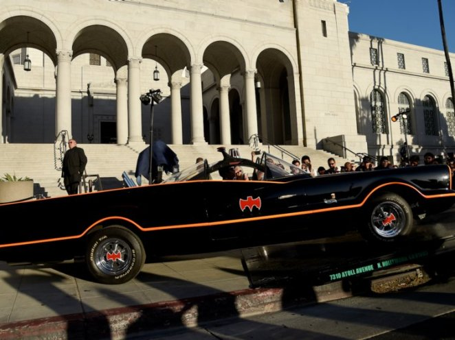 The original Batmobile: .6 million