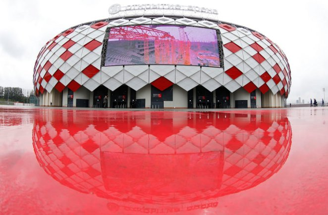 The Otkrytie Arena in Moscow