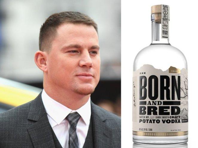 10. Channing Tatum, Born and Bred Vodka —  (£23)