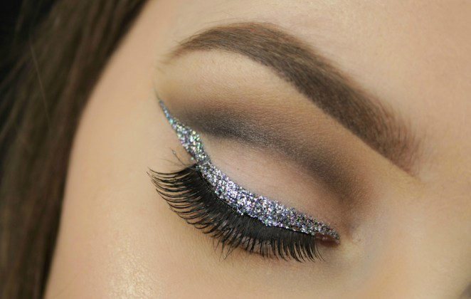 Resultado de imagen para eyeliner glitter