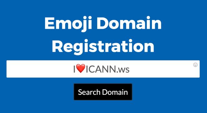 Resultado de imagen para emojis in url domains