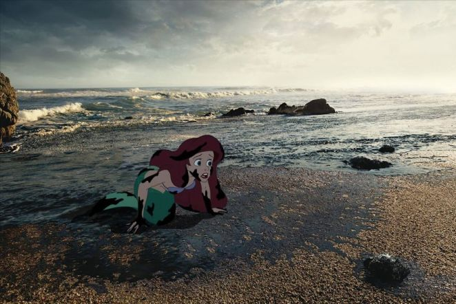 Artist Creates Unhappy Ending To Disney Characters