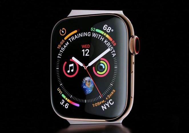 Resultado de imagen para Apple Watch Series 4