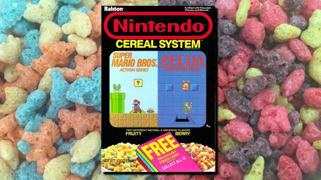 Resultado de imagen para nintendo cereal system