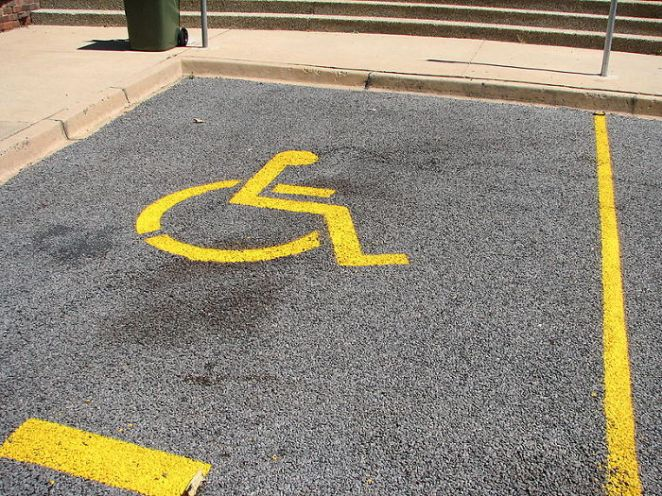 Parking In Disabled Parking Spots