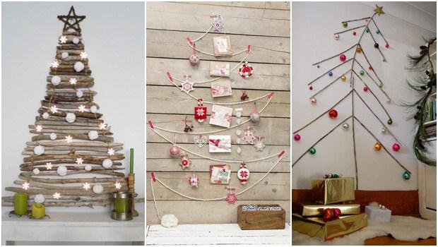 Ideias para uma árvore de Natal diferente