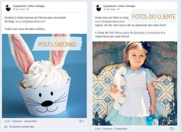 Facebook: Layouteria