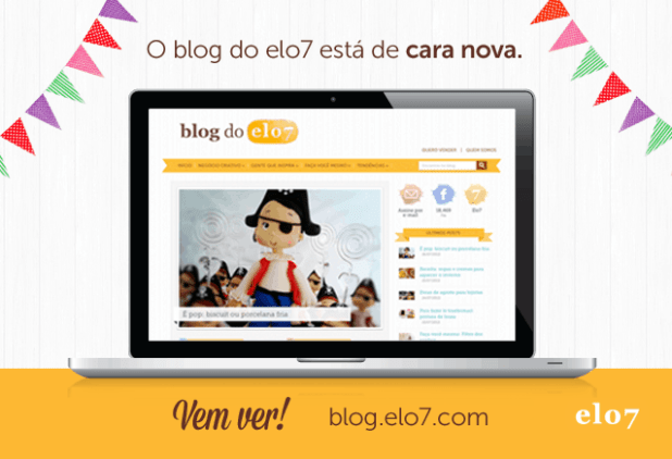 Blog do Elo7 de cara nova