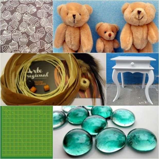 Nova categoria no Elo7! Materiais para seu artesanato produtos