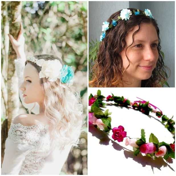 headbands-coroas de flores