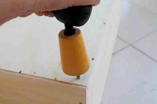 sapateira feita com gaveta passo 1