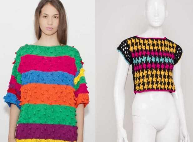 trico e croche na moda 2