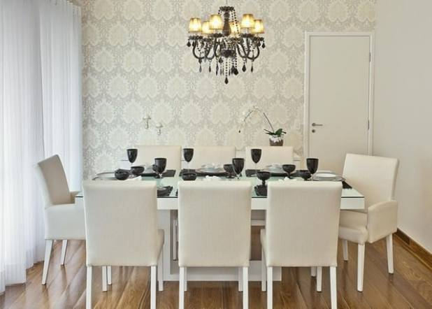 decorar com papel de parede sala-de-jantar-umuarama-renata-tolentino-arquitetura-interiores-viva-decora