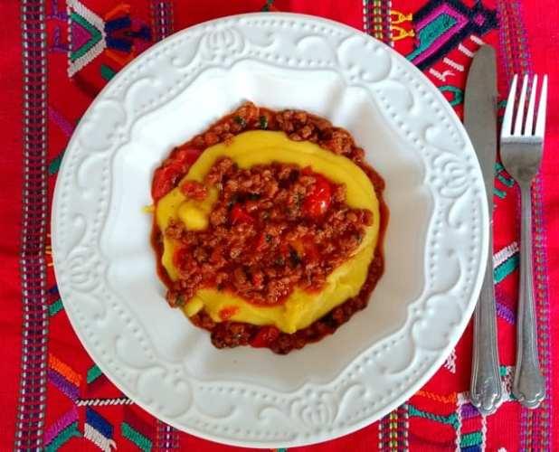 ragu vegetariano com polenta 2