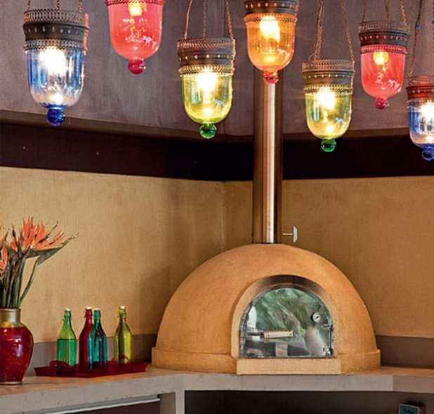 espaço da pizza em casa
