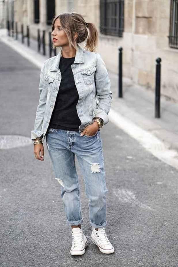 como desfiar jeans