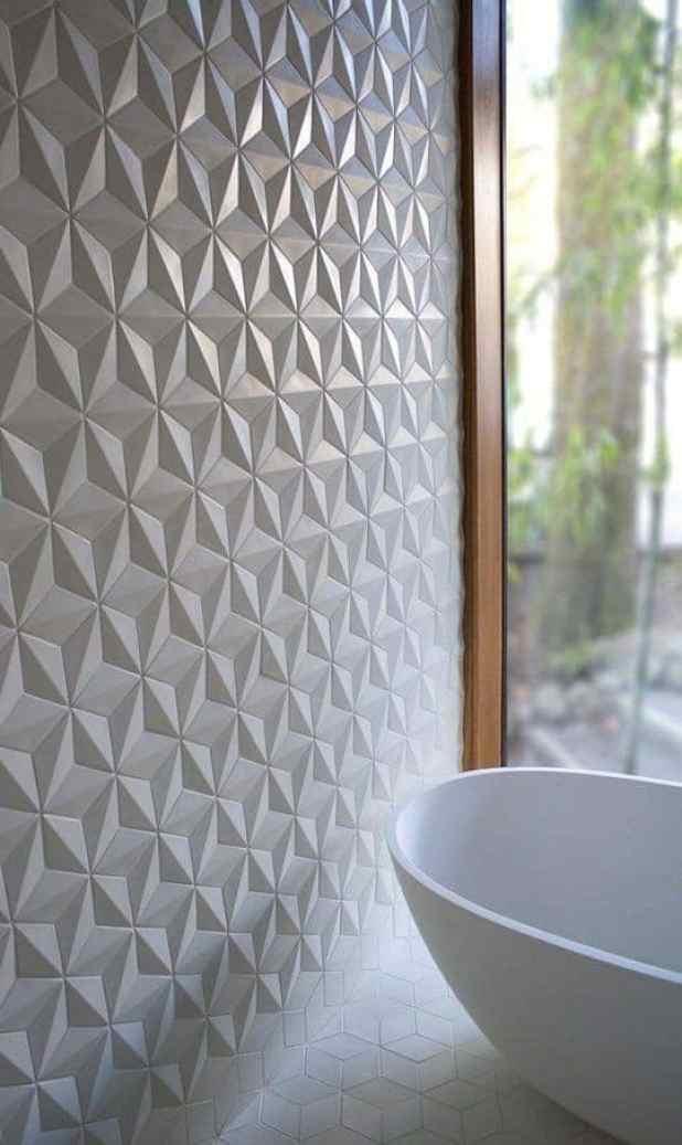 Papel de parede texturizado e diferente! Ideias pra aplicar em casa ... 0b532c368460a