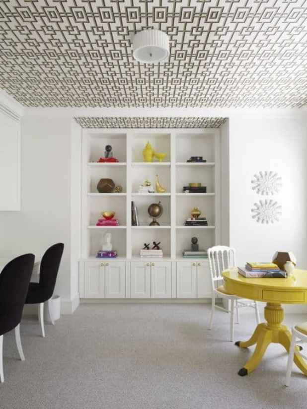 10 ideias de tetos decorados