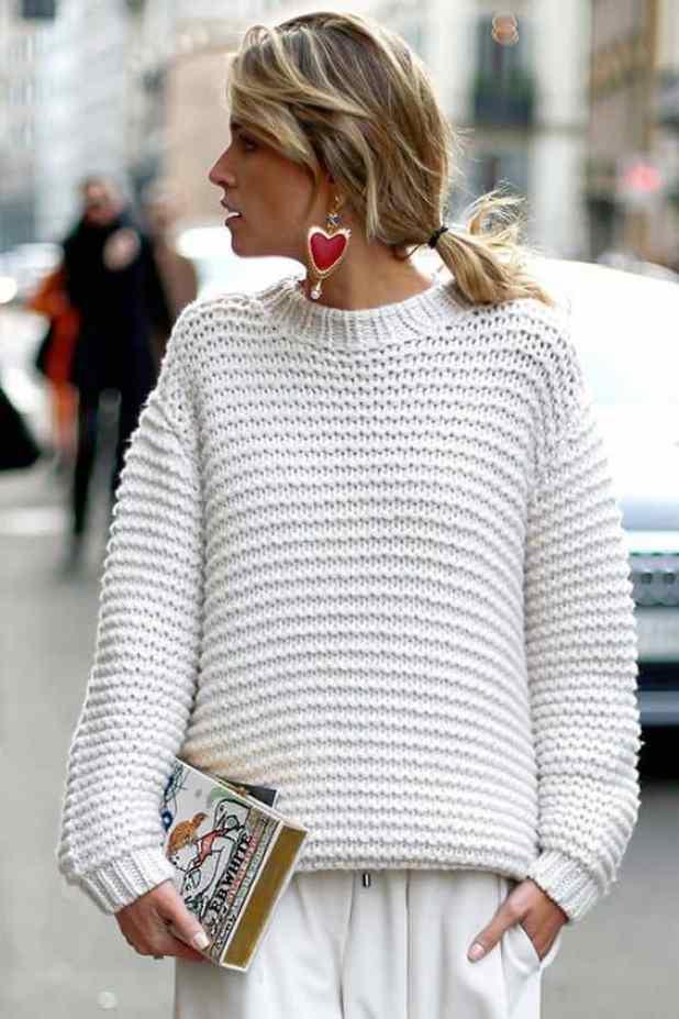 tricô está com tudo