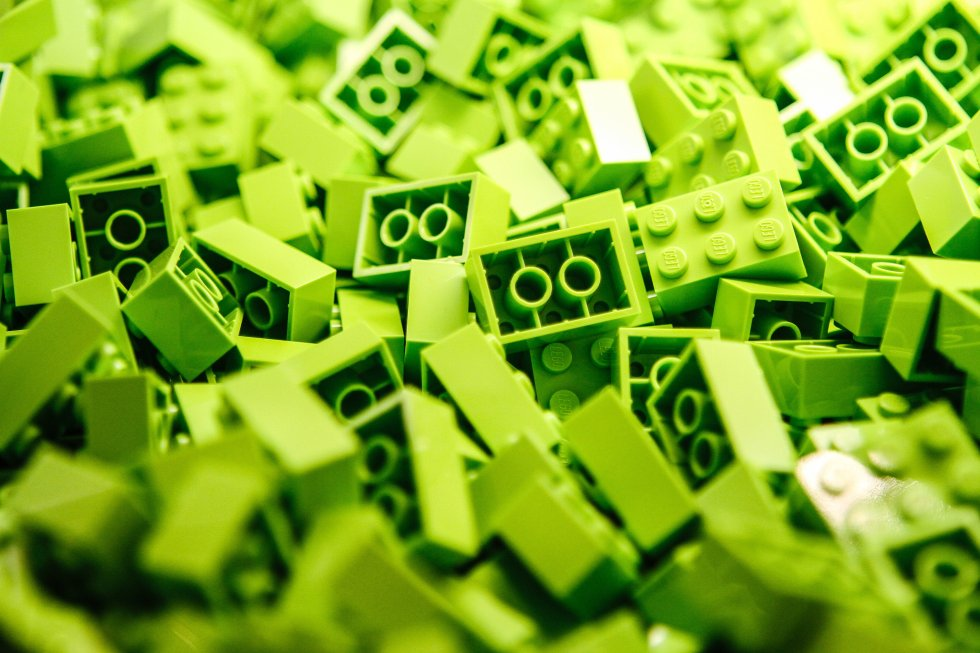 a-pile-of-lime-green-lego-blocks